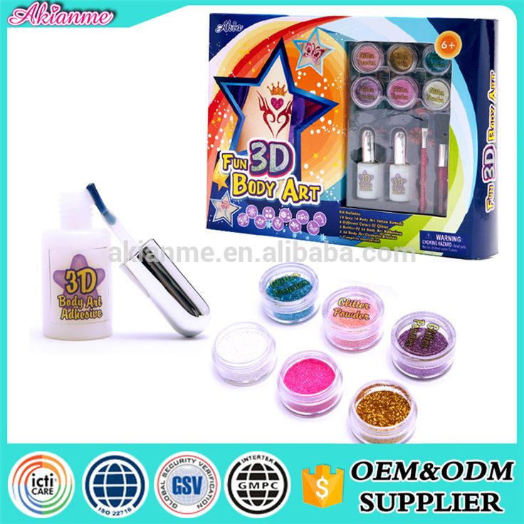 cheap for kids body art kits temporary paper makeup designs supply sticker tattoo