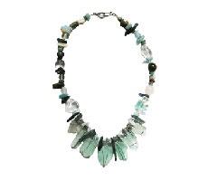 chunky sea glass jewellery