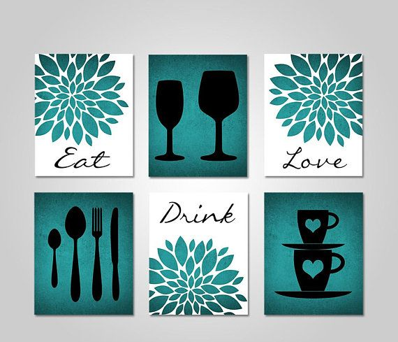 Kitchen Wall Art Dining Room Wall Art Kitchen Wall Decor Etsy Kitchen Decor Wall Art Kitchen Canvas Art Dining Room Wall Art