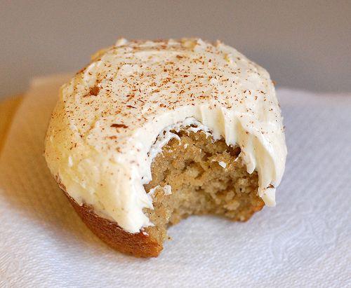 Adorable Applesauce Cupcakes Recipe — Dishmaps