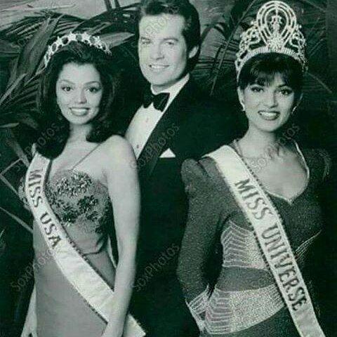 Sushmita Sen during her Miss Universe reign