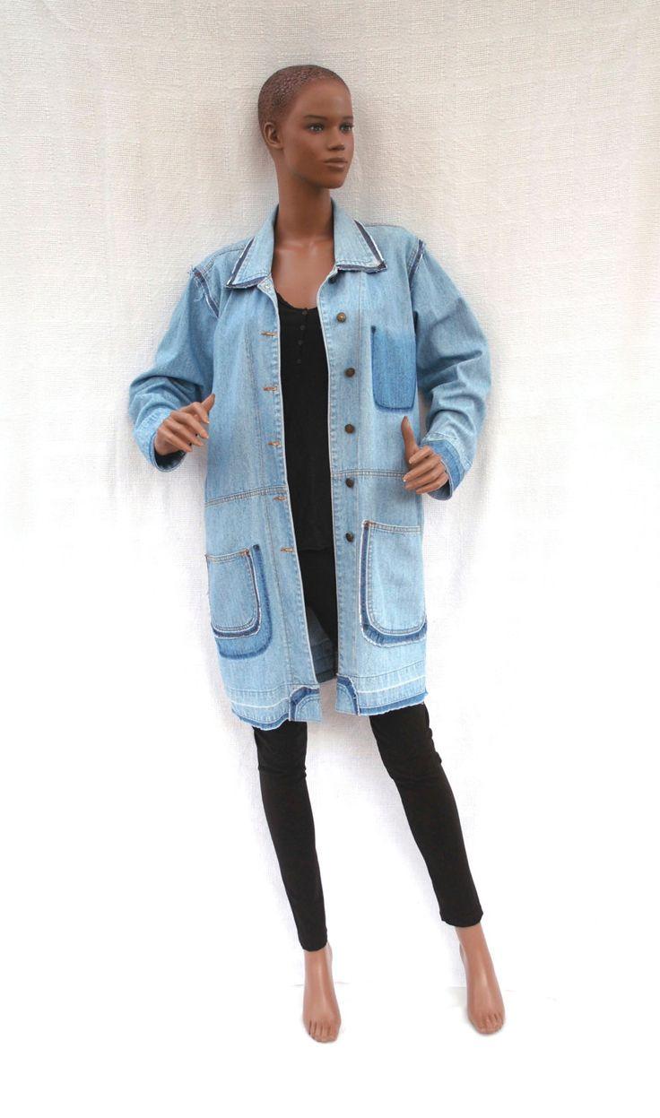 Veste Jean Vintage Femme