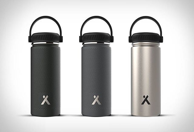 ZOKU STAINLESS STEEL WATER BOTTLE Zoku Have Recently Launched A Sleek Line  Of Vacuum Insulated Stainless Steel Bottles. The Good Looking And Functu2026