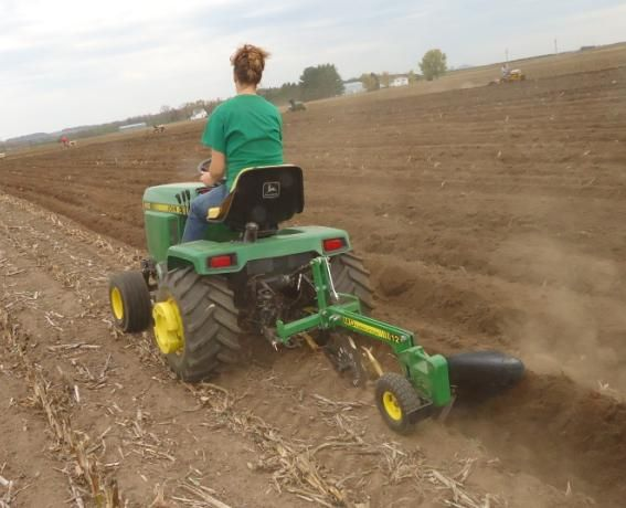 Smallest Garden Tractor With Bucket : Best images about tractor and attachments on pinterest