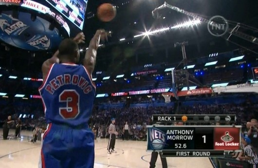 Anthony Morrow's tribute to Drazen PetrovicAnthony Morrow, Morrow Tribute