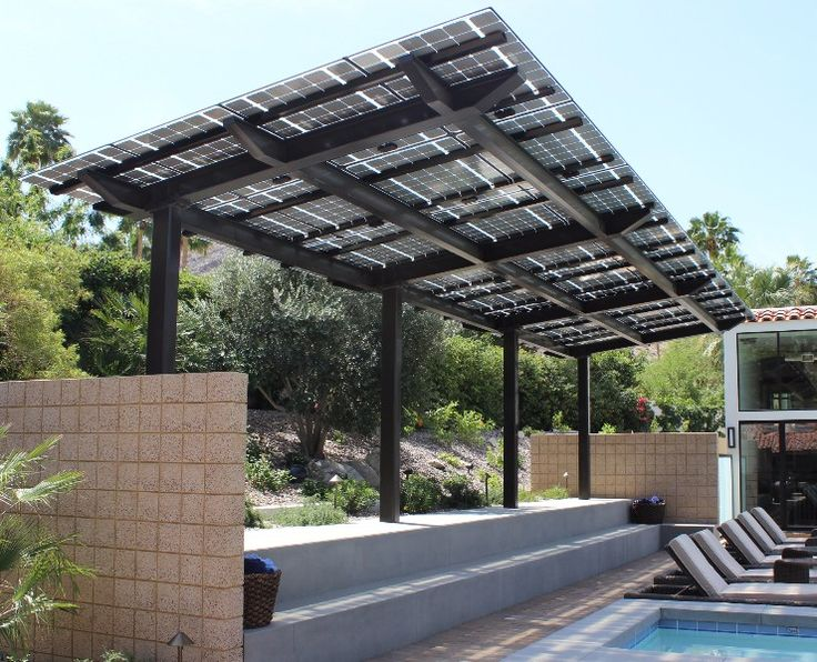 Modular, Prefabricated Solar Structures U003d SolarScapes! Backyard PatioPatio  RoofSolar RoofCanopiesSolar Panel ...