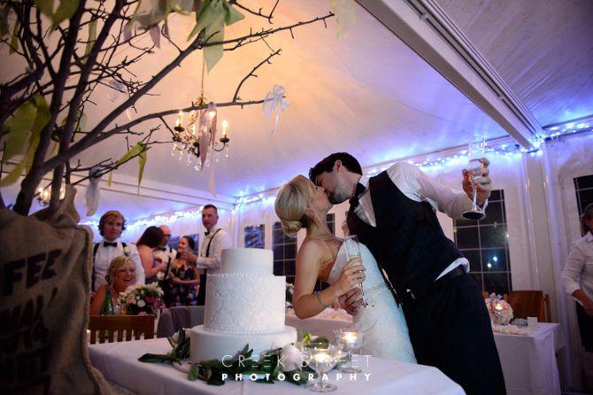 wedding cake kiss #dunesrestaurant #palmbeachwedding