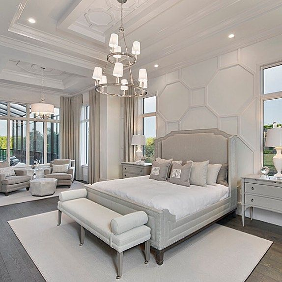 From The Gorgeous Wood Floor To That Impressive Ceiling   This Bedroom Is  Flawless! By