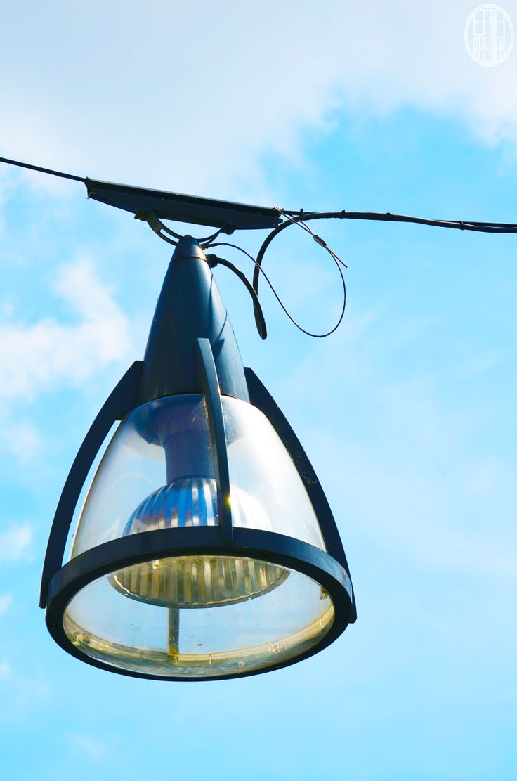One of the many big streetlights throughout the center of the city - Tilburg