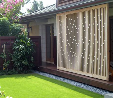 17 best ideas about outdoor privacy panels on pinterest for Living screen fence