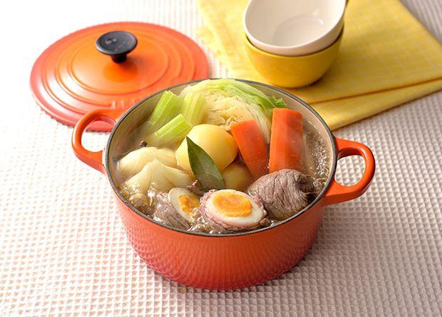 簡単+ごろっと野菜のポトフ鍋 (レシピNo.2703)|ネスレ バランスレシピ