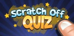 Scratch off Quiz