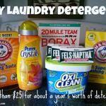 DIY Laundry Detergent Recipe