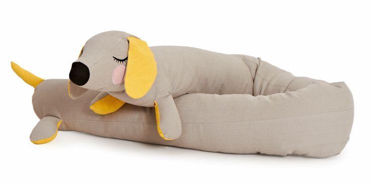 Detaljer for RoomMate Lazy Long Dog Grå
