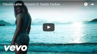 ♫♪♫♪♫♪  Top Music  ♫♪♫♪♫♪: Claudia Leitte - Corazón ft. Daddy Yankee
