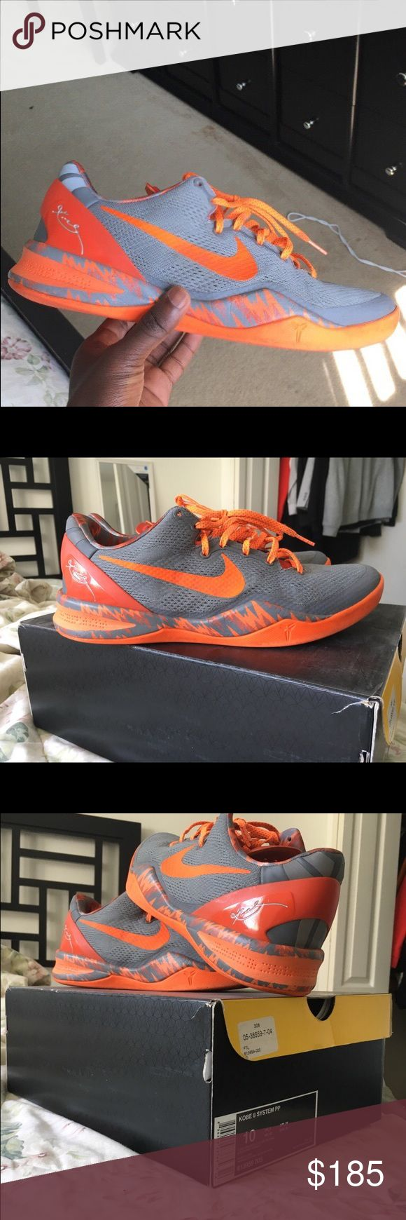 Size 10 Kobe 8s Size 10, Kept in great condition. Price is negotiable, just want the gone. Dont really wear them anymore Nike Shoes Athletic Shoes