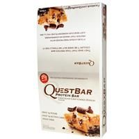 Quest Nutrition, Quest Protein Bar, Chocolate Chip Cookie Dough, 12 Bars, 2.12 oz (60 g) Each - iHerb.com