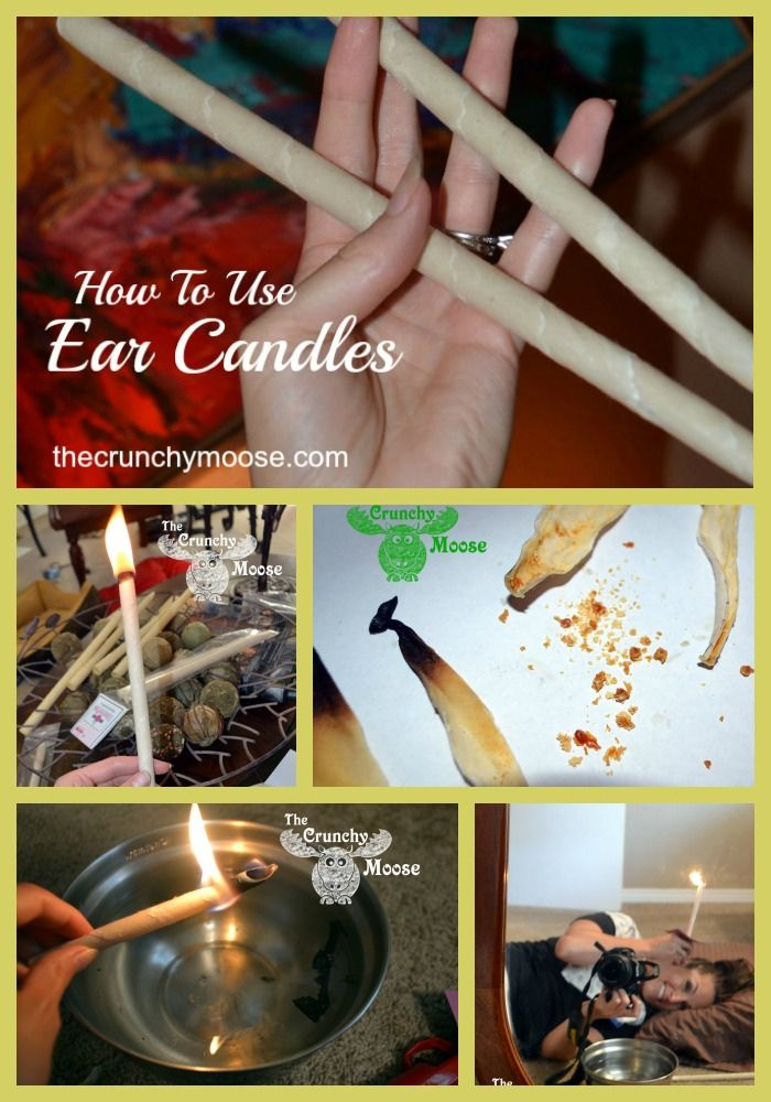 How to Use Ear Candles - everything you need to know.  thecrunchymoose.com