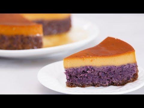 Ube Leche Flan Cake Recipe   Yummy Ph - YouTube