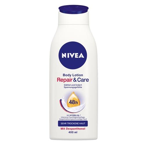 NIVEA Repair & Care SOS Body Lotion. Erhältlich im NIVEA Shop http://shop.nivea.de/pflege/nivea-repair-care-body-lotion-1346.html #nivea #bodycare #bodycream