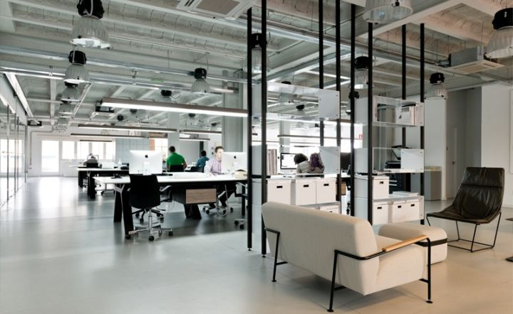 Viccarbe furniture at COMPAC office » Retail Design Blog