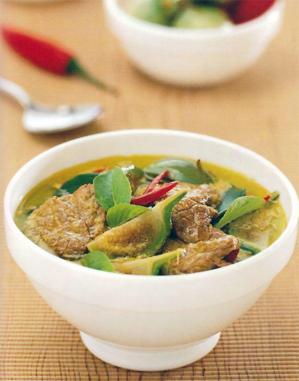 Thai Green Curry Recipe (Gaeng Kiaw Wan) - Temple of Thai