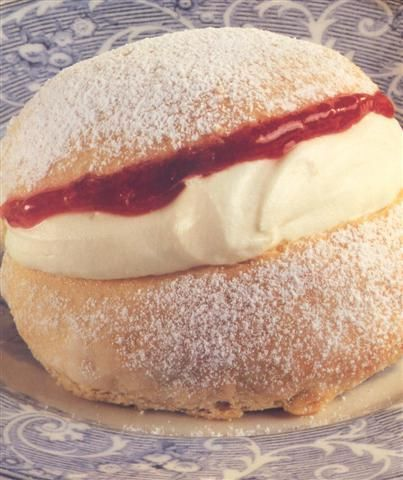 Devonshire splits .... The best food for a cream tea! Even more traditional than scones.