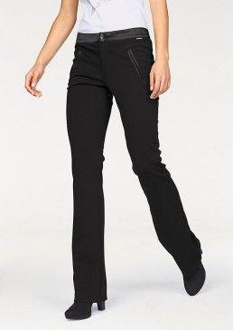 Kalhoty bootcut Sportovní elegance, Bruno Banani #avendro #avendrocz #avendro_cz #fashion #business #prace