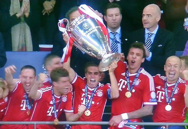 FC Bayern Munich wins 2:1 vs. Borussia Dortmund in Champions League Finals
