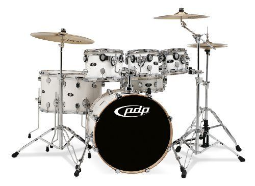 Pacific Drums by DW X7 Shell Pack, Maple, Pearl White (Cymbals and Hardware Not Included) by Pacific Drums. $949.99. Amazon.com                 Pacific Drums and Percussion now offers their X7 seven-piece kits with all maple shells, without getting rid of the affordable pricing. Drummers can now enjoy maple's sonic benefits, along with pro features such as True Pitch Tuning, STM (Suspension Tom Mounts), Remo heads and more, combined with a sonically superior a...