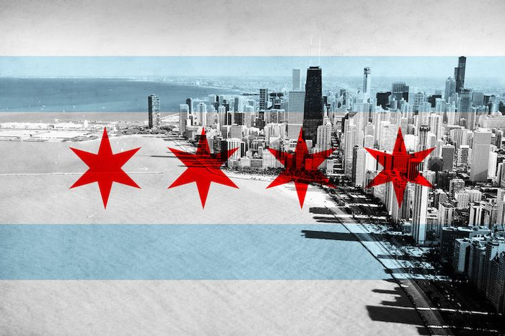 Chicago City Flag (Downtown Skyline) by iCanvas is printed with premium inks for brilliant color and then hand-stretched over museum quality stretcher bars. 60-Day Money Back Guarantee AND Free Return Shipping.