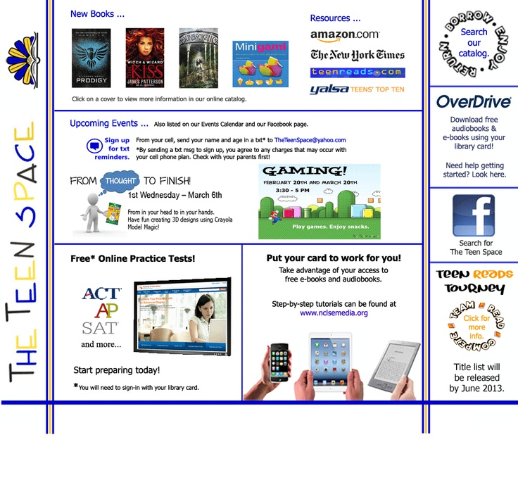 Library Teen Web Sites 107