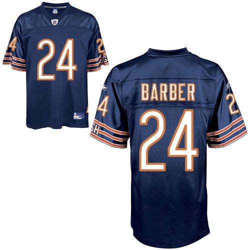 Bears #24 Marion Barber Blue Embroidered NFL Jersey! Only $18.50USD