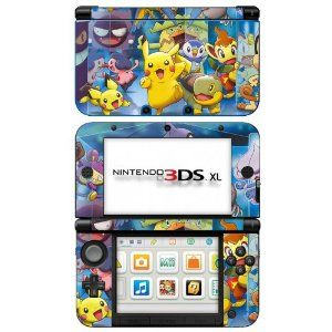 Pokemon Black and White 2 -g- Game Skin for Nintendo 3DS XL Console