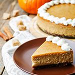 Atkins welcomes you to try our delicious Spiced Pumpkin Cheesecake recipe for a low carb lifestyle. Get started by browsing our full list of ingredients here.