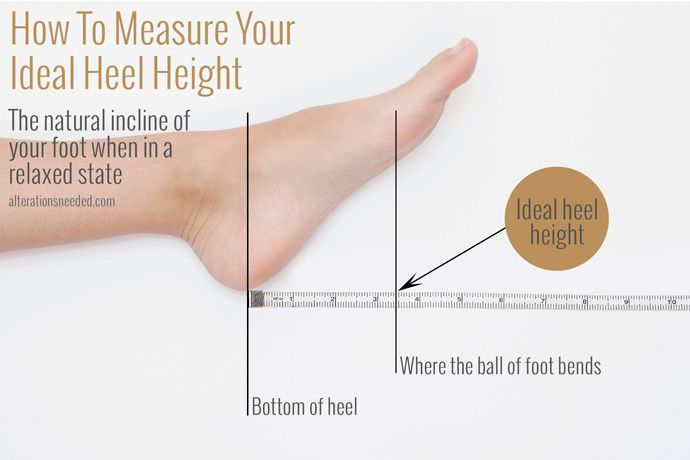 Super handy guide to always getting the best heels for your feet - whether they're 4-inch or 2