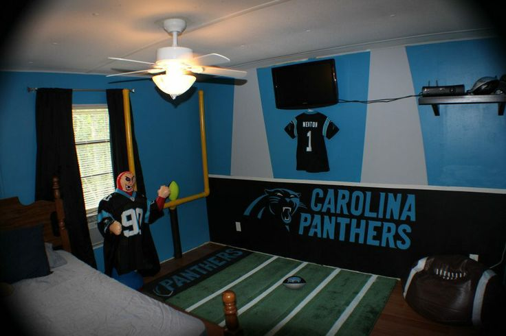 kids room to beat all kids rooms. Meow  Panthers