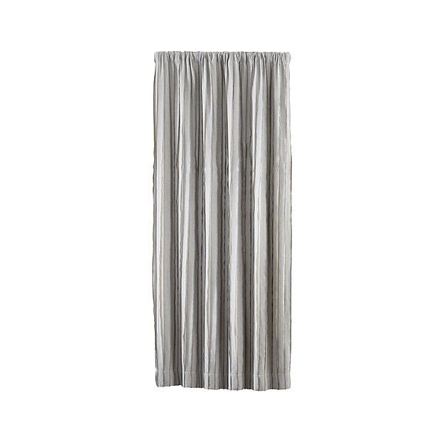 Kendal Grey Striped Curtains  Grey Striped Curtains