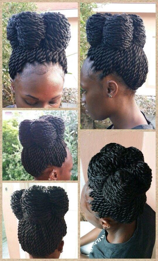 #Weave #Twist #Braid  #Bun