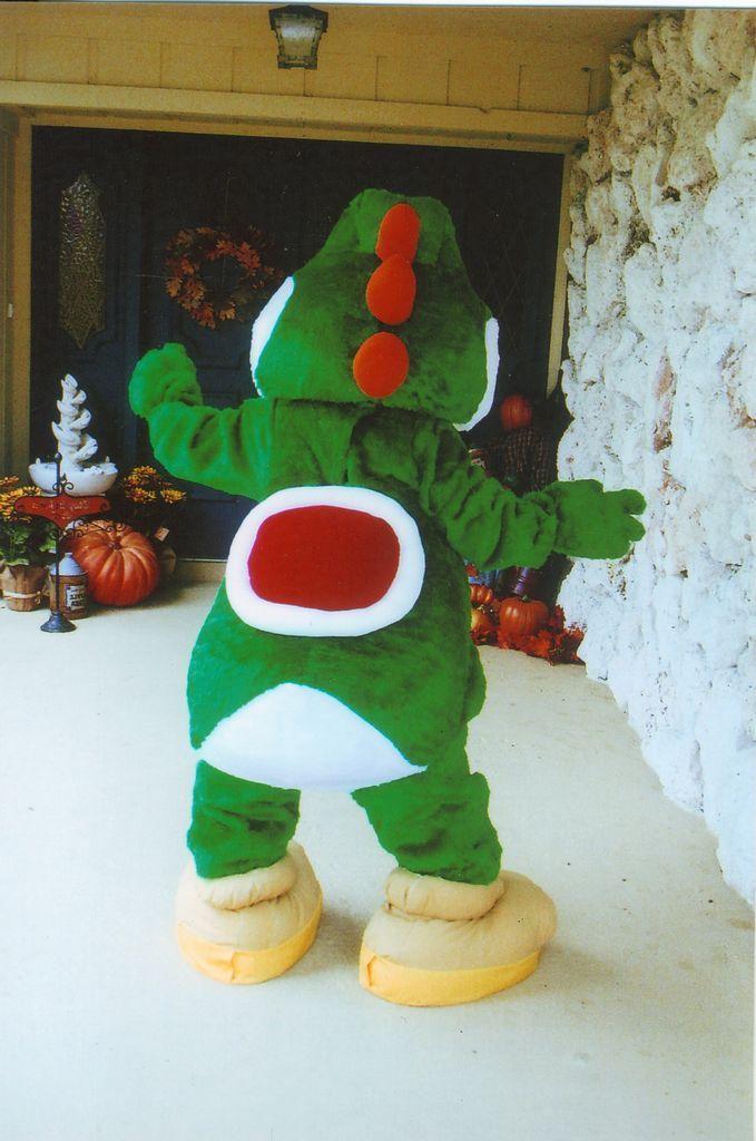 Yoshi costume... OMG!