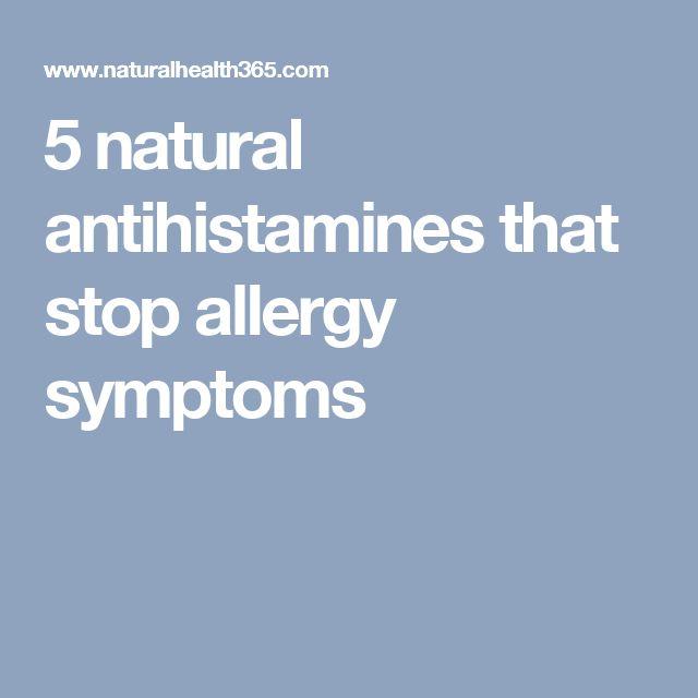 5 natural antihistamines that stop allergy symptoms