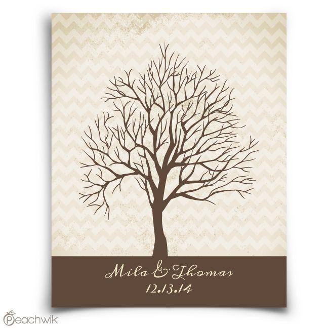 chevwik fingerprint tree guest book wedding guestbook alternative thumbprint tree wedding