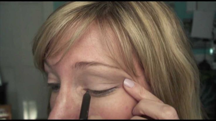 Makeup for Mature Hooded Eye. This is for older women but would work for all ages I guess. she is good