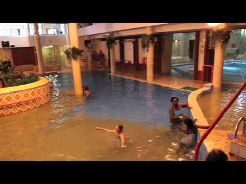 Swimming in Torquay, Devon in the Aztec Pool at TLH Leisure Resort