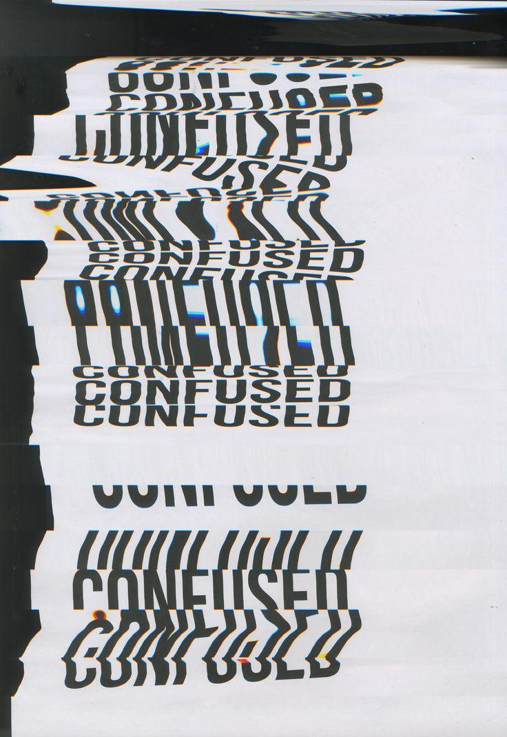 #Type #Typography #Design #Scanography