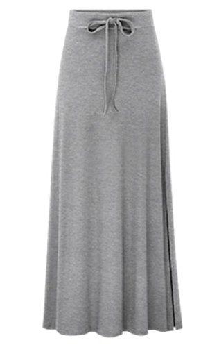 27335ccde0 FreelyWomen Freely Womens Career Hi-Waist Lace-up Split Regular-Fit Commute  Long Skirt