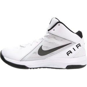 Gezien op beslist.nl: Nike performance the air overplay ix basketbalschoenen white/black/pure platinum