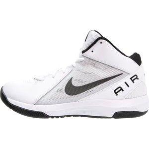 Gezien op beslist.nl: Nike performance the air overplay ix basketbalschoenen white/black/pure platinum
