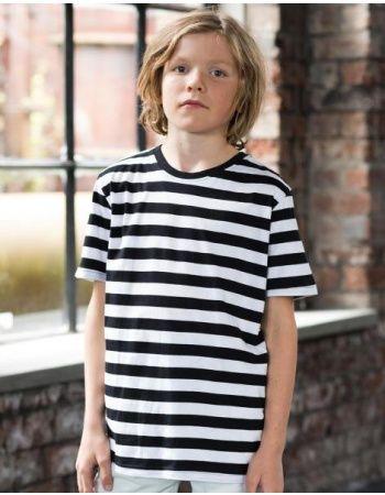 Pextex.cz - Dětské pruhované triko s krátkým rukávem Mantis
