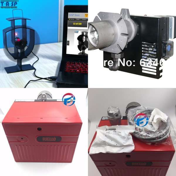Lpg Lng Gas Fire Burner Industrial Oven Fast Heater One Stage